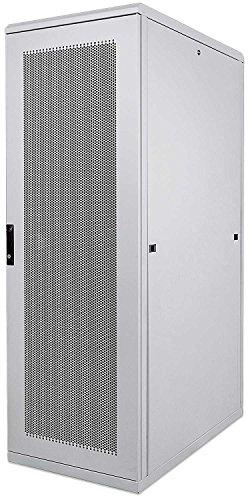 Preisvergleich Produktbild kab24® Netzwerkschrank Serverschrank Wandhehäuse Netzwerk Wandschrank Wandverteiler SOHO Schrank grau 19 Zoll 36 HE H:172, 8 x B:60 x T:100cm