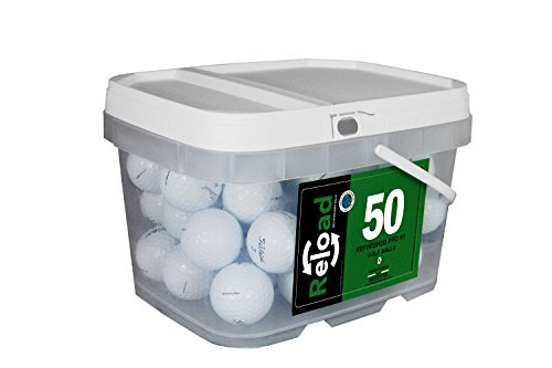 Titleist Reload Recycled Golf Balls Pro V1 (Renewed )Golf Balls (50 Pack)