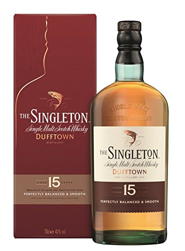 The Singleton of Dufftown 15 Jahre Single Malt Scotch Whisky (1 x 0.7 l)