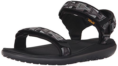 Teva Men's M Terra-Float Universal Sandal, Mosaic Black/Dusk, 13 M US