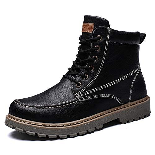 HongYi schoenen mannen enkellaarzen Casual herfst/winter hoge top dikke waterdichte werk schoenen wandelen laarzen mannen
