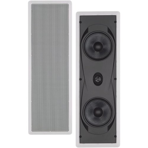 "NS-IW760 6.5/"" 2-Way In-Wall Speaker System White"