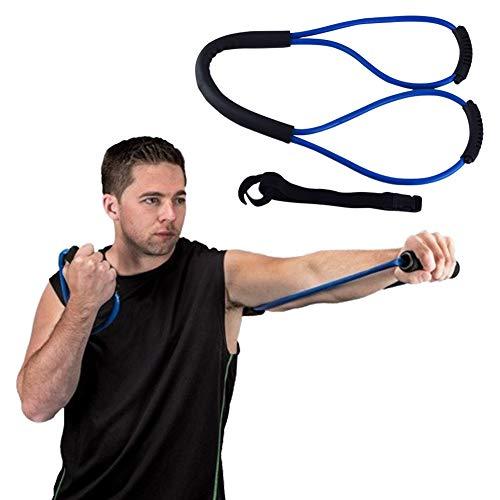 Boxen Trainings,Widerstand-Bands, Ausdauer Speed Trainer, Ganzkörper-Kampf-Kampf-Widerstandstraining Set, Spannung elastisches Seil Fitnessgeräte