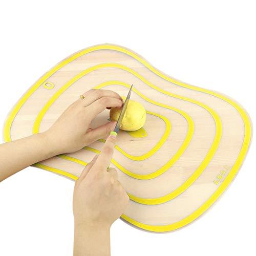 Tabla de Cortar de plástico para Cocina Tabla de Cortar de Cocina esmerilada Antideslizante Herramientas de Carne Vegetal Accesorios de Cocina Tabla de Cortar- s4, como Imagen, 30.5x23.5cm