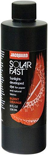 Jacquard Products Jacquard SolarFast Dyes 8oz, Burnt Orange