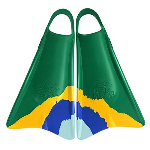 Kpaloa - Aletas de Bodyboard modelo Pro Uri Valadão Brasil - S