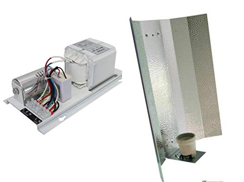 Vorschaltgerät 600 W für MH/NDL/HPS Lampen Leuchtmittel magnetisch ELT Ballast Grow (VSG + Reflektor)