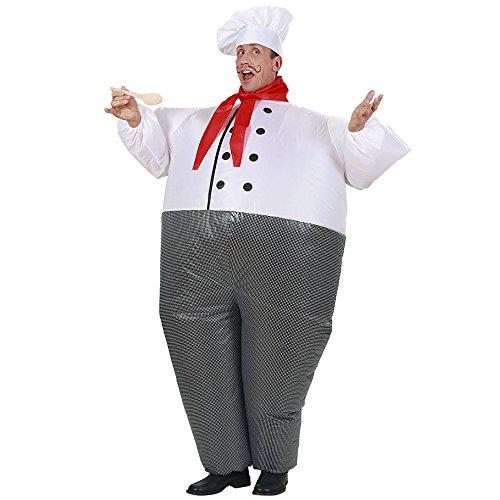 WIDMANN Widman - Disfraz de cocinero inflable, talla única (7555F)