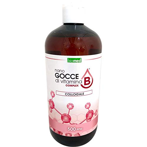 Biomed - Vitamina B Complex Colloidale 500 ppm formato da 500 ml