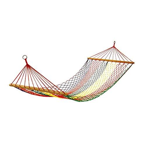 Hamacs balancelles et Accessoires Chaise de Berceau de Mesh Adulte Swing intérieur extérieur