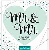 Mr & Mr - Geschenkidee für gleichgeschlechtliche Paare / zur Ehe für alle: Alles Liebe zur Hochzeit