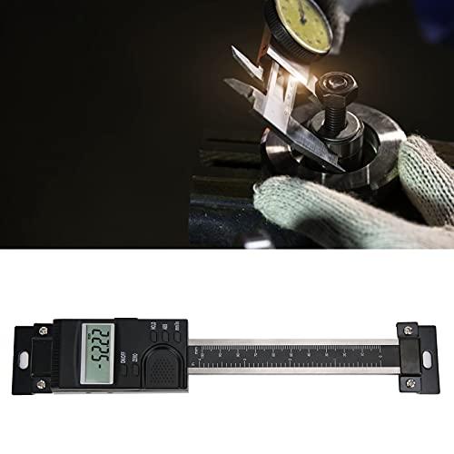 Calibrador a vernier, calibre digital de calibre Pantalla LCD Rendimiento excelente Fácil de operar para mesas de fresado para tornos para cepilladoras para fresadoras