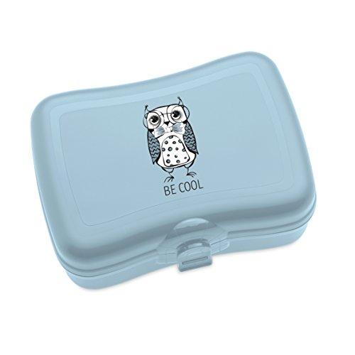 koziol Lunchbox Elli, Kunststoff, powder blue, 12.2 x 16.8 x 6.6 cm