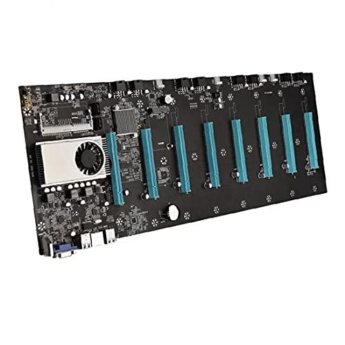 Mining Mainboard DDR3 SODIMM SATA3.0 mSATA2.0 8xPCIE 16X Graph Karte BTC-S37 Motherboard bequem und praktisch Werkzeug