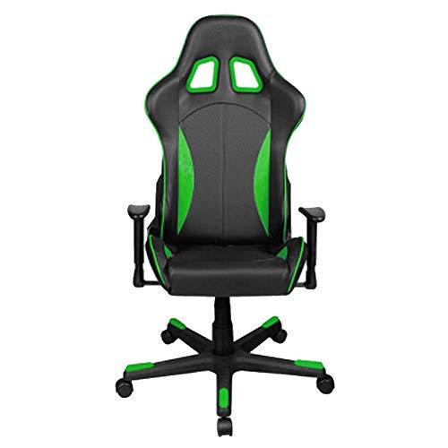 Silla de juego ajustable, silla de oficina con respaldo alto, silla giratoria