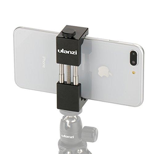 Métal Smartphone Trépied - Ulanzi ST-01 Aluminium Métal Universel Téléphone Intelligent Trépied Support Adaptateur pour Apple iPhone 7 et iPhone 7 Plus Sumsang Android Smartphones