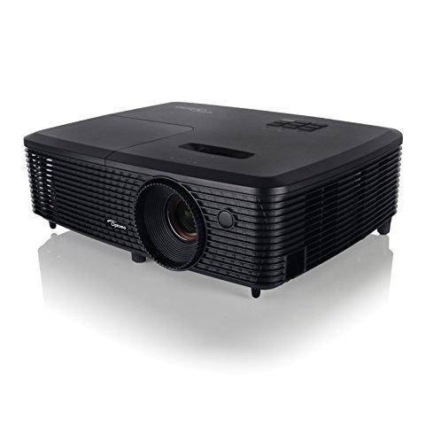 Optoma S321 SVGA 3D DLP Multimedia Projector, Black