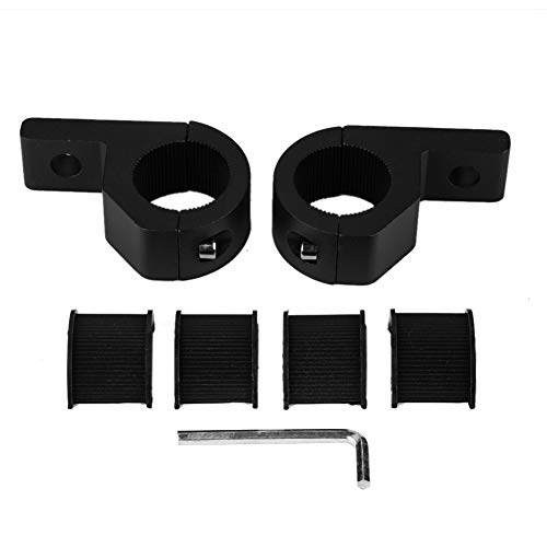 Kit de abrazadera de soporte de barra de luz LED Kit universal de montaje de barra de luz LED para coche 20-30mm