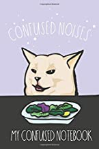 """My Confused Notebook: Math and Science Composition Notebook for Students – Woman Yelling At A Cat Meme – Confused Cat Meme - 15.2cm x 22.9cm (6"""" x 9"""") ... Quad Ruled 5 squares per inch – Glossy Cover"""