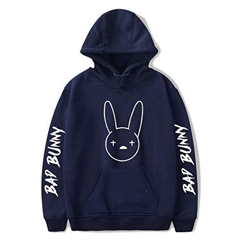 Unisex Bad Bunny Hoodie Sweatshirts Pullover Casual Clothes Fashion Hip Hop Harajuku Novelty Hooded Sweater Women/Men