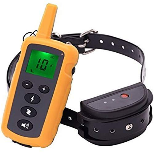 NINGXUE Dog training waterproof pet dog collar, automatic electric shock...