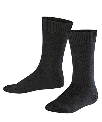 Falke Comfort Wool Calcetines, Niñas, Gris Oscuro 3070, 23-26