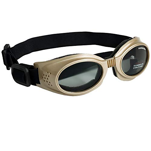 Doggles Originalz Medium Frame Goggles for Dogs with Smoke Lens