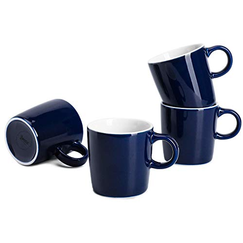 Sweese Espressotassen aus Porzellan, 100 ml, 4 Stück navy