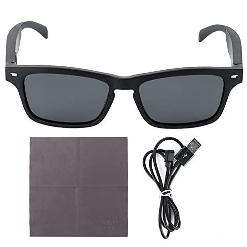RUIRUIY Gafas de Sol de música Gafas de Sol de Audio polarizadas Altavoz inalámbrico de Gafas de Sol Bluetooth para Escuchar música