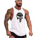Cabeen Hommes Musculation Débardeur Bodybuilding Stringer Training Tank Tops Sport T-Shirt