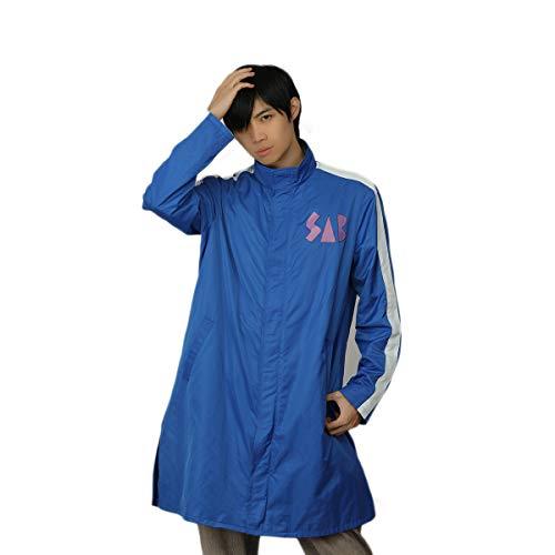 Xcoser 2018 Newest Goku Costume Super Saiyan Cosplay Blue Jacket Coat