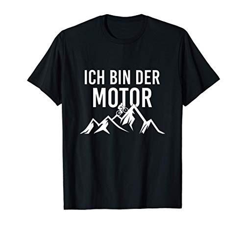 Ich bin der Motor Fahrrad T-Shirt