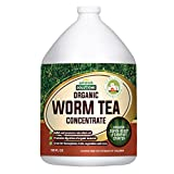 Worm Tea for Gardening Soil - Worm Tea Fertilizer Liquid - Organic Worm Castings, Earthworm Casting Manure Fertilizer - Earthworm Tea Worm Castings Organic - PetraTools Worm Casting Concentrate (1 Gal)