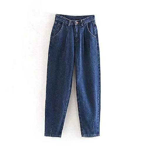 Blaue Slouchy Jeans