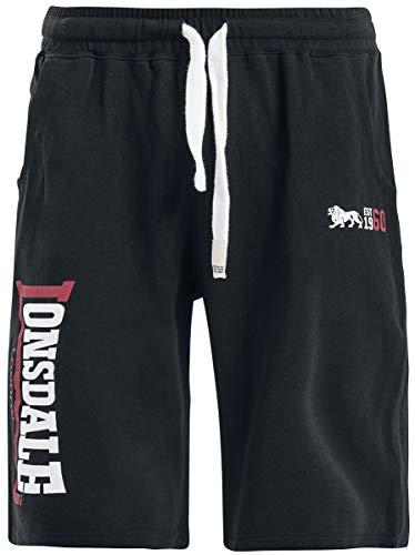 Lonsdale London Sidemouth Männer Short schwarz M 80% Baumwolle, 20% Polyester Sport, Streetwear