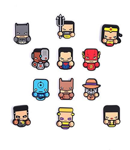 Dc Superhero chibi small mini pins