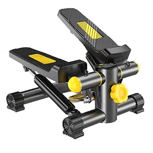 ZLQBHJ Máquinas de step, Aptitud paso a paso, mini escalera paso a paso de la máquina ajustable, acero de alto carbono, 2 en 1 hidráulico inteligente mecánica de paneles Ensanchamiento del pedal del m