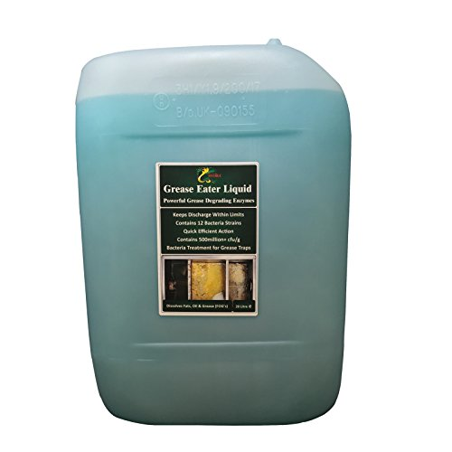 Grease Trap Enzyme Cleaner +Degreaser +Drain Maintain HYDRA Grease Eater Enzyme Liquid 20L Drum