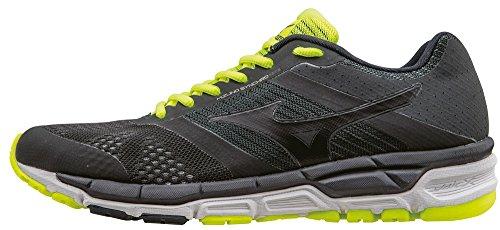 Mizuno Synchro Mx - Zapatillas de running Hombre, Negro (negro/negro/blanco), 40
