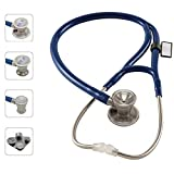 MDF ProCardial C3 Cardiology Stainless Steel Dual Head Stethoscope with Adult, Pediatric, and...