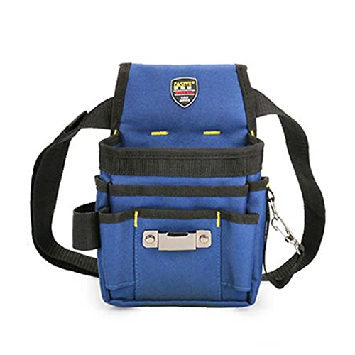 Werkzeuge Gürteltasche Elektriker Werkzeugaufbewahrung Tasche Multi-Funktions-Waist Elektrikerwerkzeuge Organizer Blau L Werkzeugset