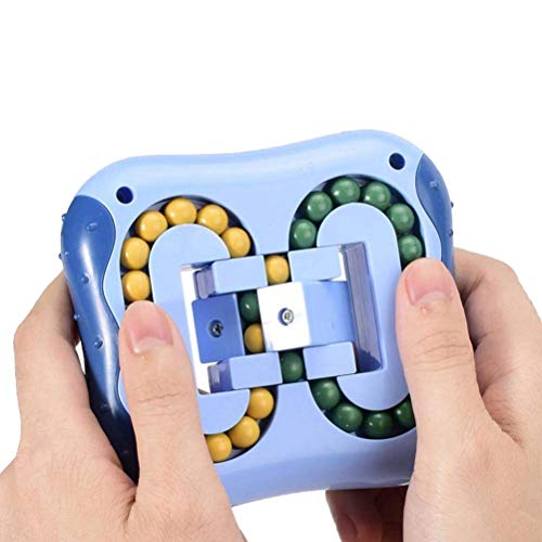 1Stück Rotierende Magie Bohne Würfel Würfel Fingerspitzen-Spielzeug für Erwachsene und Kinder Angst Linderung