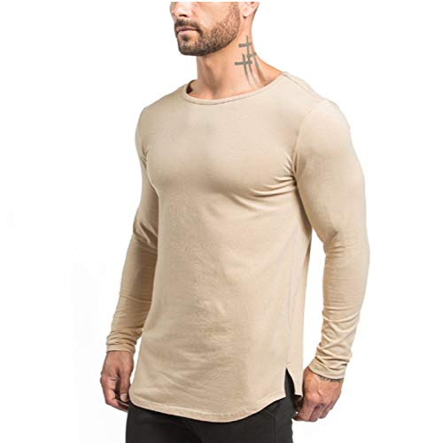 Camiseta Deportiva de Hombre Mangas largas.