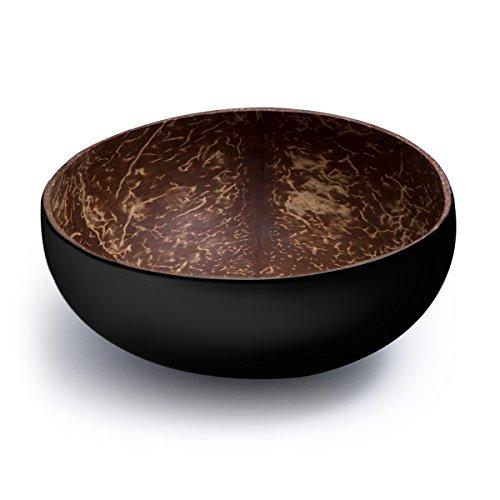 Cocobowl Pure - Kokosnuss Schale/Dekoschale - schwarz