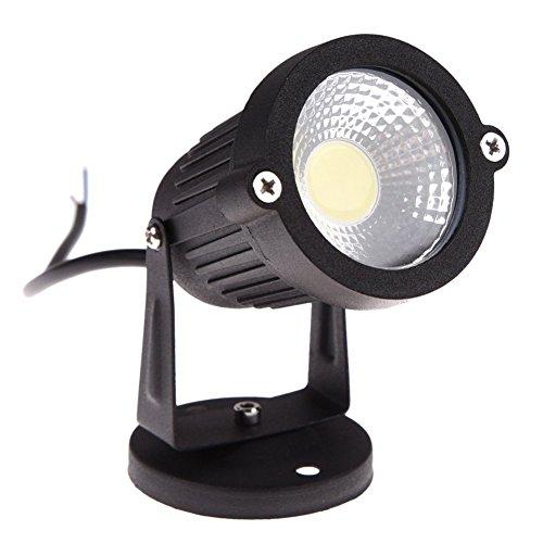 Dasing Luz LED COB de 3 W 12 V para césped, resistente al agua, para jardín, foco exterior (sin accesorios, color cálido)