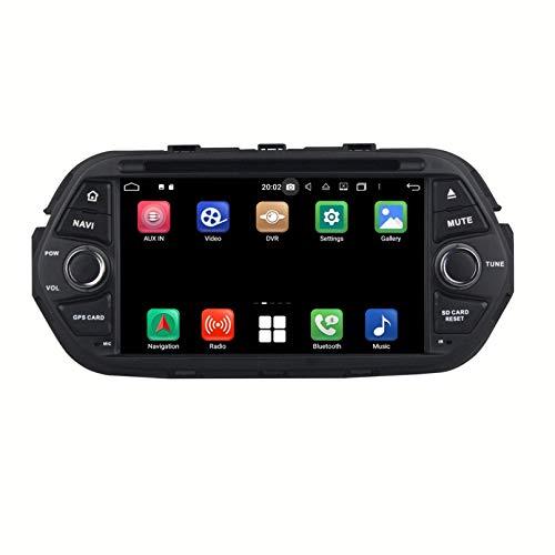 Android 10.0 Autoradio Navigazione GPS per Fiat Tipo Egea(2016-2020), 7 Pollici Touchscreen Lettore DVD Radio Bluetooth