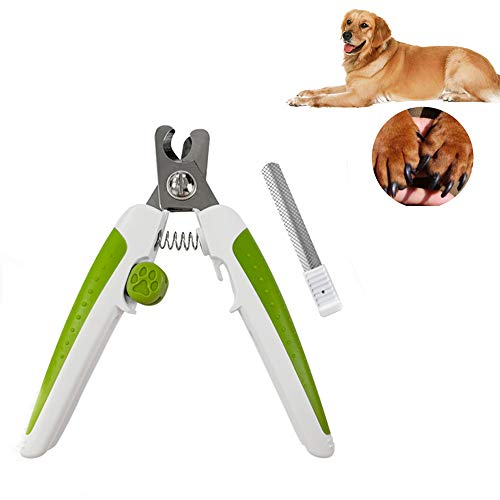 ORSERA Dog Nail Clippers, Professional Pet Trimmer with Safety Guard to Avoid Over-Cutting, Free Nail File & Lock Switch, Best Cat Dog Nail Trimmer Pet Groomer for All Animals