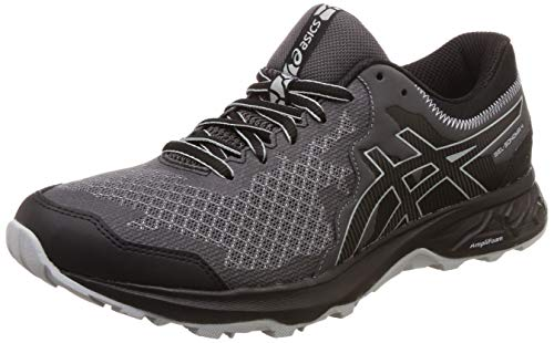 Asics Gel-Sonoma 4, Zapatillas de Running Hombre, Negro (Black/Stone Grey 002), 44.5 EU