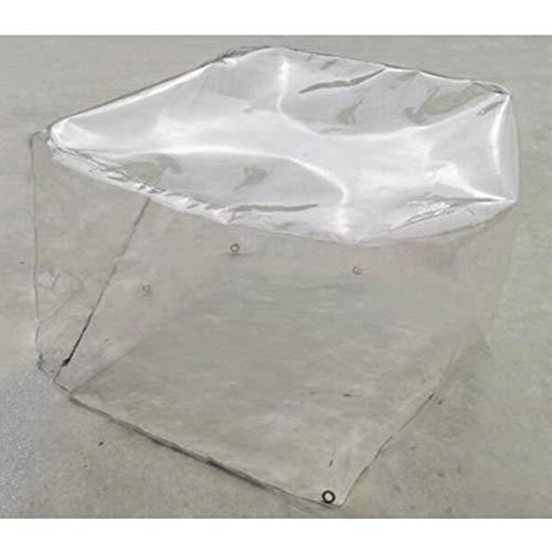 GDMING Transparant afdekzeil voor tuinmeubelen, terrastafel, waterdicht, winddicht, anti-UV PVC, met ritssluiting, tuintafel, stoelen, 33 maten