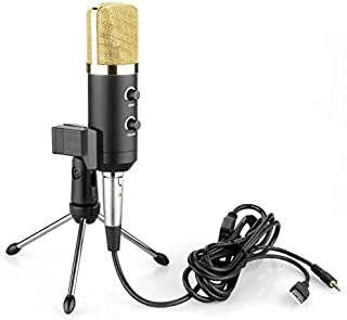 ALUCE USB Microphone,Fifine Metal Condenser Recording Microphone for Laptop MAC or Windows Cardioid Studio Recording Vocals, Voice Overs,Streaming Broadcast and YouTube Videos